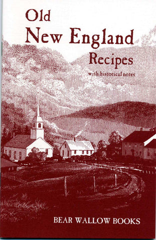 Old New England Recipes