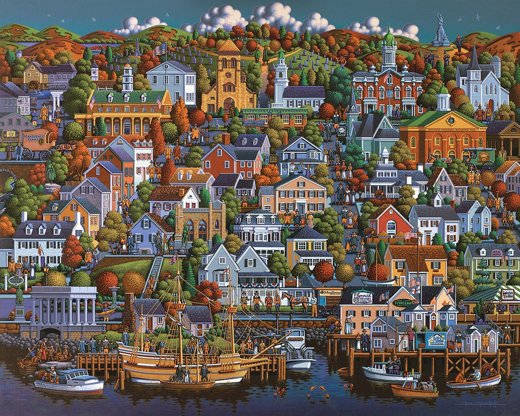Plymouth 1000 Piece Puzzle