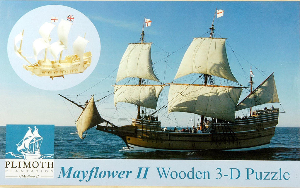 3-D Mayflower Puzzle