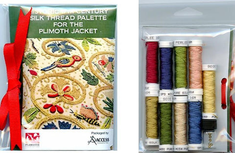 17th Century Silk Threads Kit