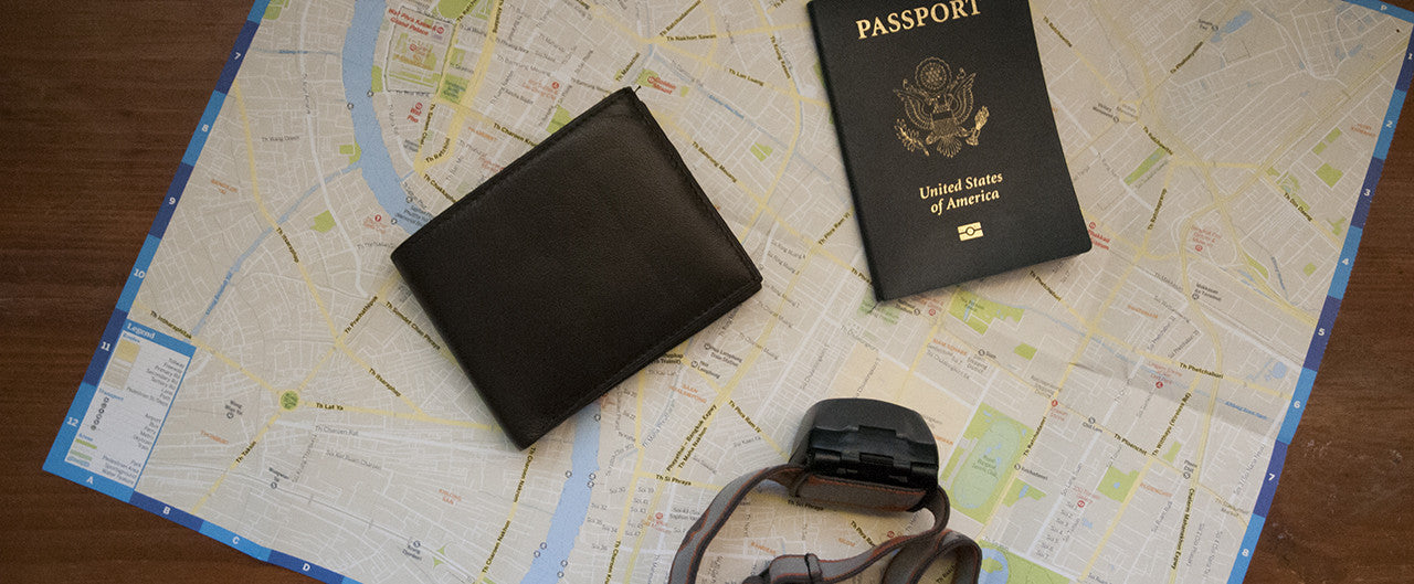 14 Countries, 8 Weeks, 2 Wallets