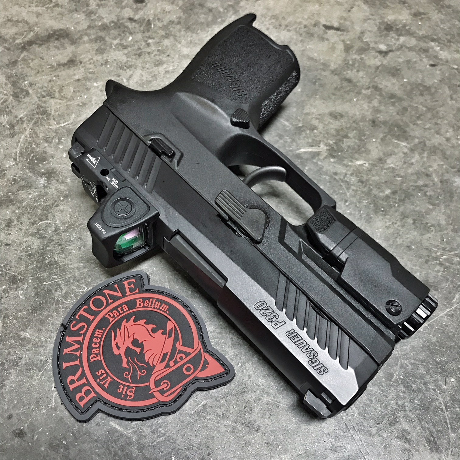 Sig P320 Slide Milling for Trijicon RMR