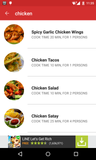 Android Recipe App - Source Code -