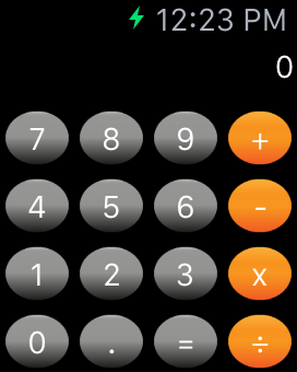 Watch Calculator - Source Code -