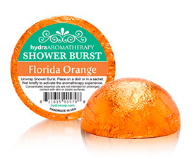 Florida Orange Shower Burst