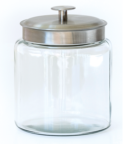 Glass Display Jar - Shower Bursts