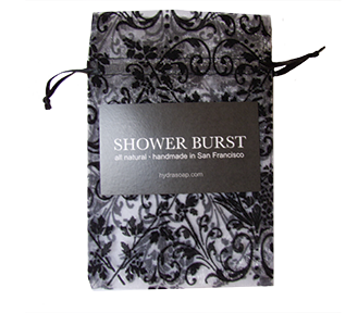 Black Shower Burst Sachet
