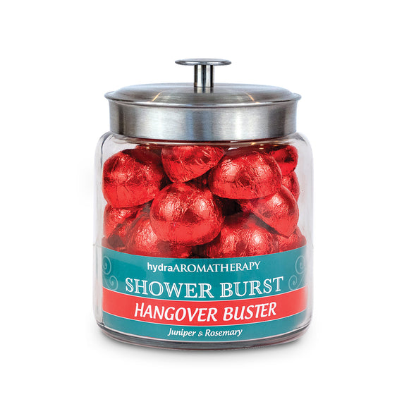 Hangover Buster Shower Bursts by the Jar