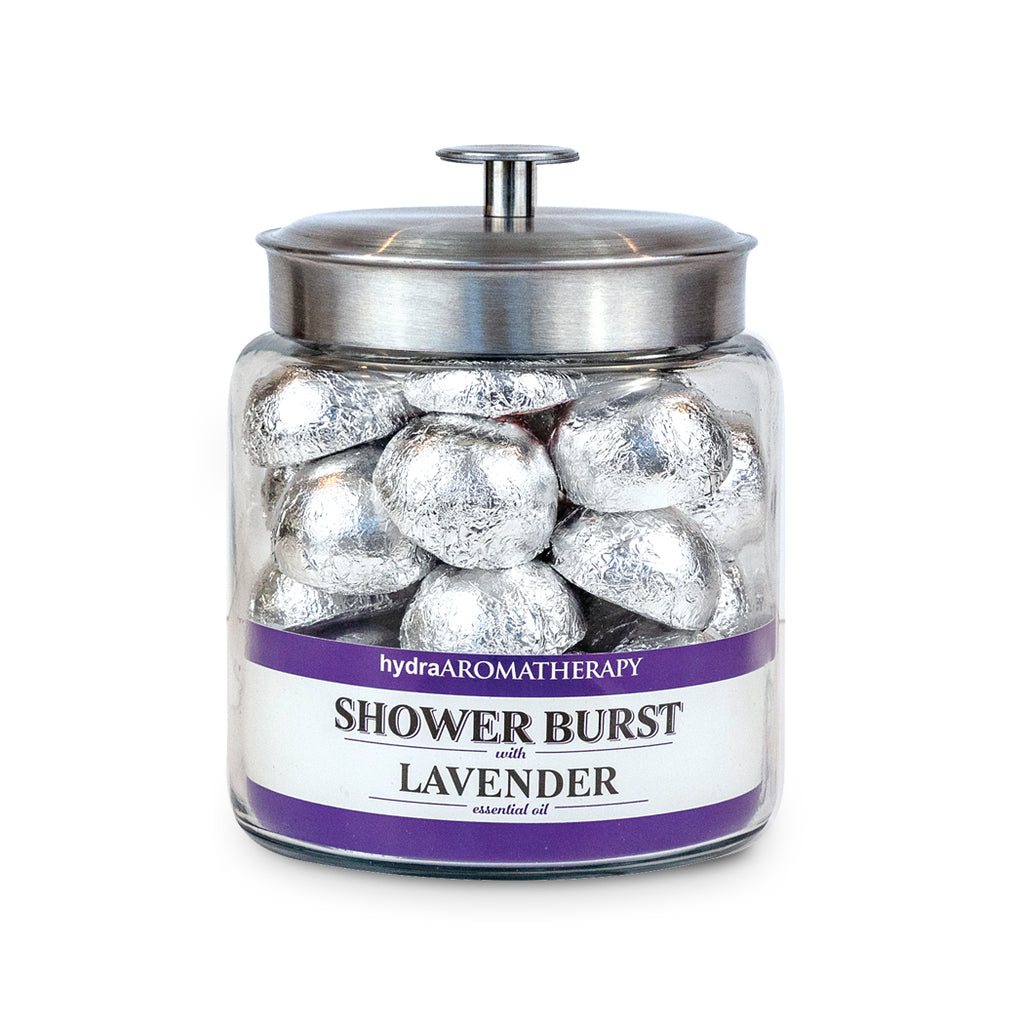 Lavender Shower Bursts by the Jar