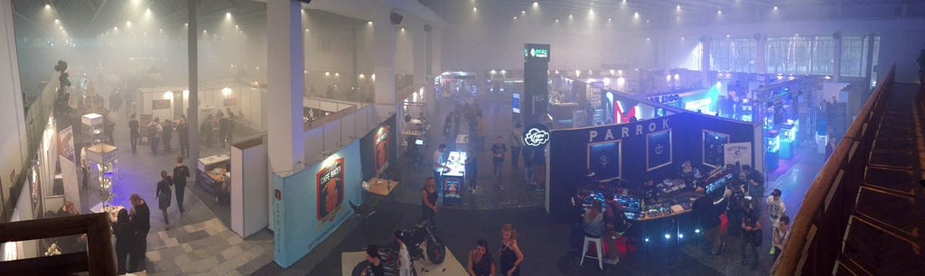 panorama view of Vape Expo Kiev