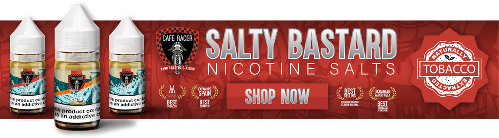 Salty Bastard Nicotine Salt E-Liquid - Best MTL Nic Salts
