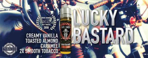 Cafe Racer Wins Best Tobacco Flavor at Vapexpo Las Vegas with Lucky