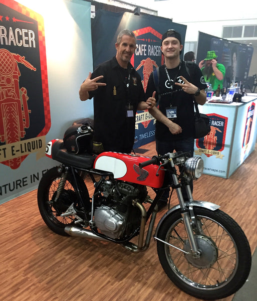 Cafe Racer Booth at VPX Expo Detroit
