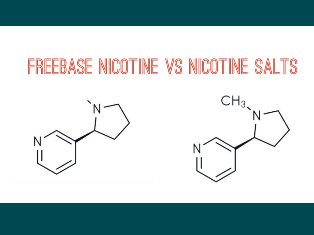 When to Use Nic Salts Vs Freebase - Cafe Racer Craft E-Liquid