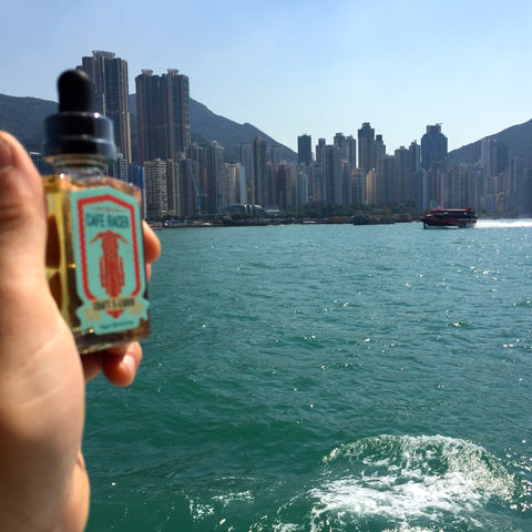 Hong Kong by Boat - Hand Check #YogurtBomb
