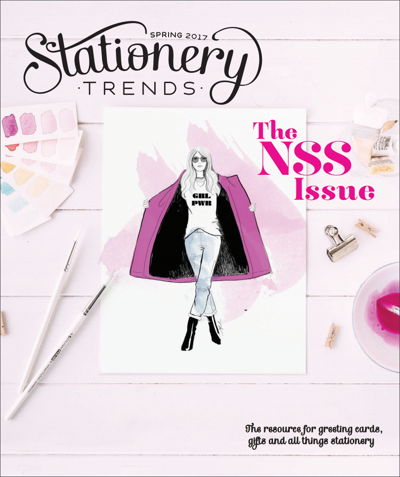 On the Cover! Stationery Trends NSS issue