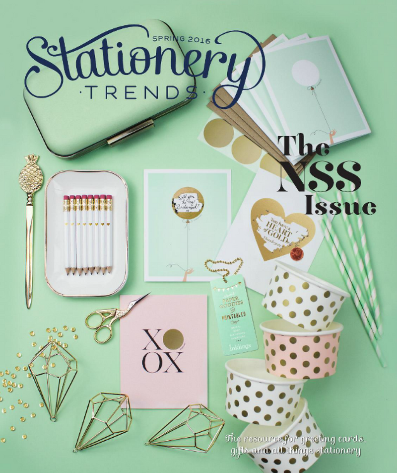 Editor's Pick: Stationery Trends Spring 2016