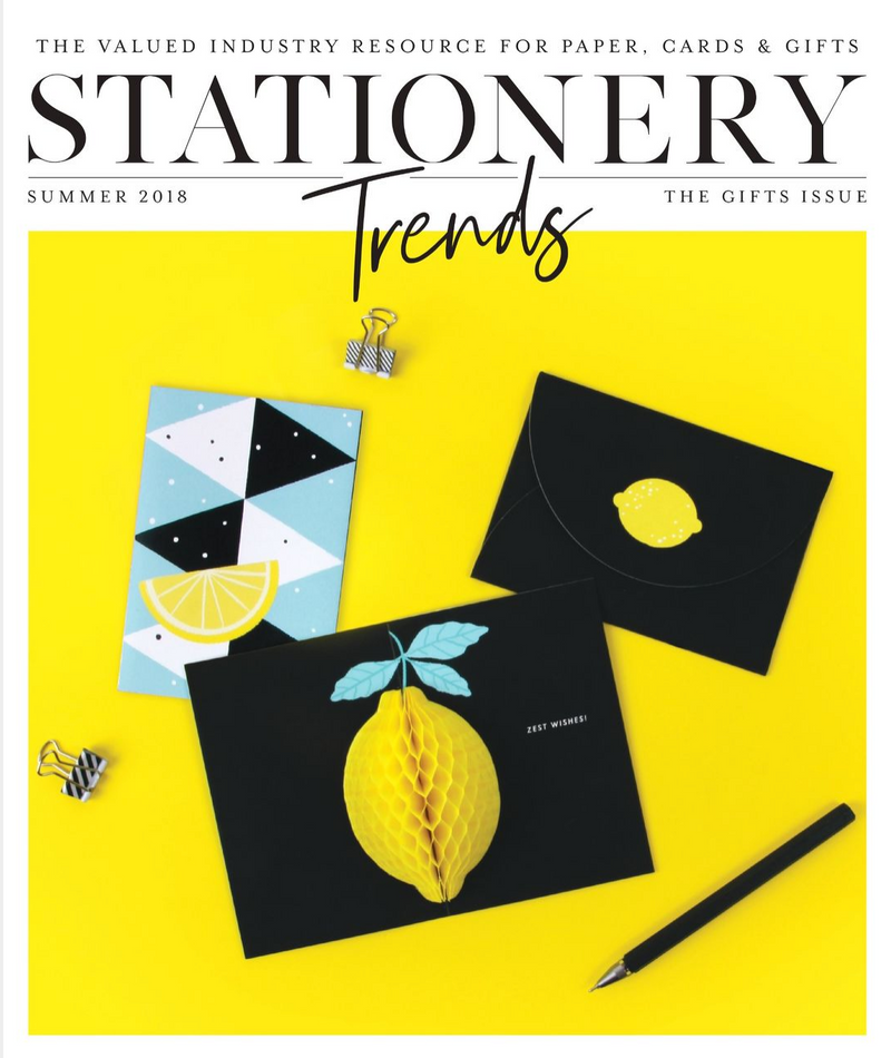 Stationery Trends Summer 2018