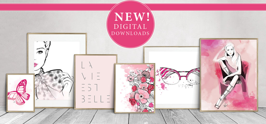 digital downloads art printable illustration