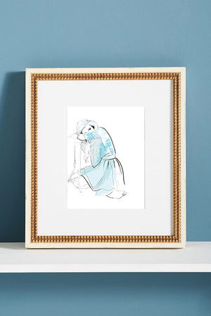 Girl In Blue *PRINTABLE*