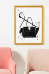 Black Rock Stud Bag *PRINTABLE*