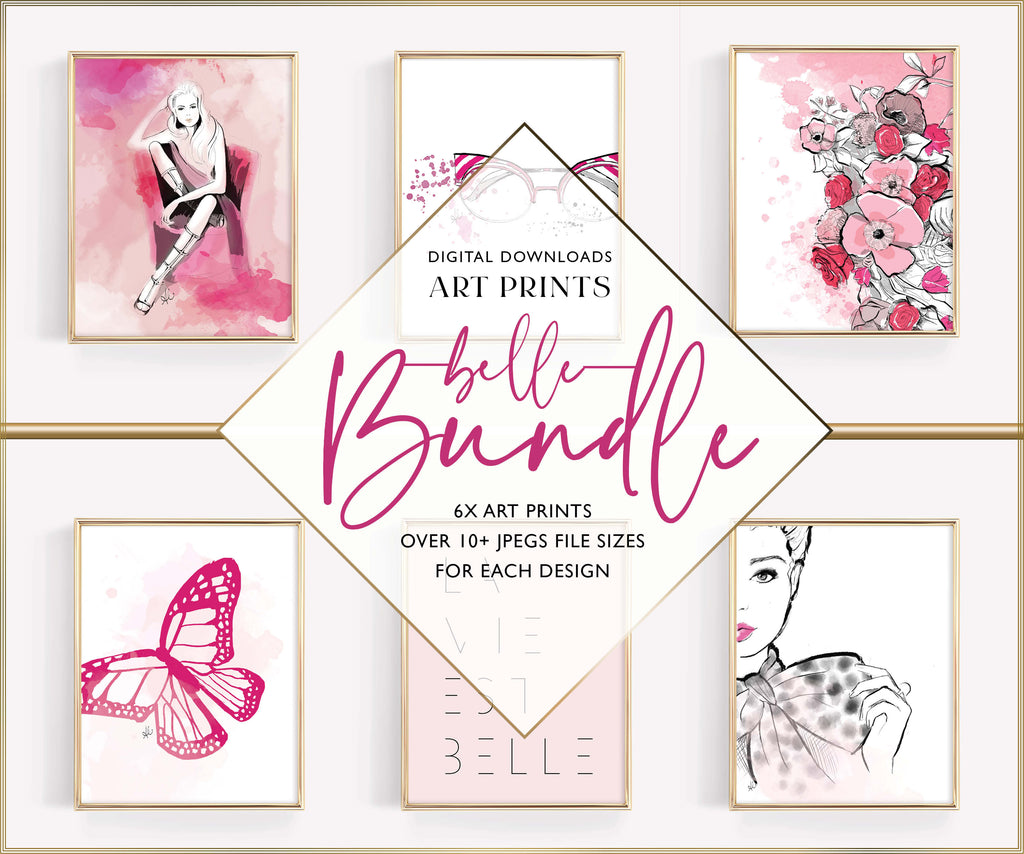 Belle BUNDLE *PRINTABLE*