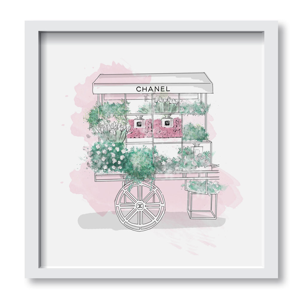 Flower Beauty Cart