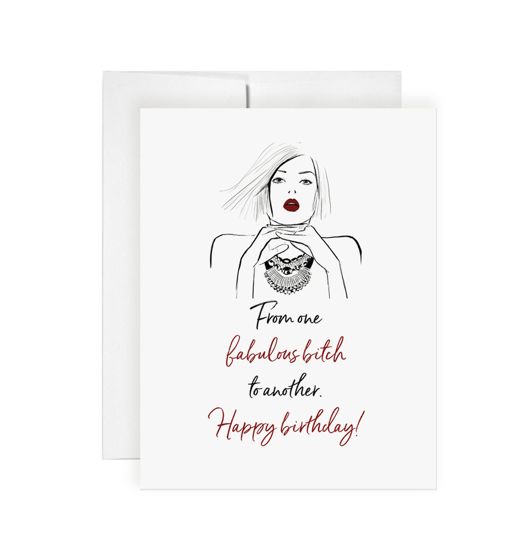 Fabulous Bitch Birthday