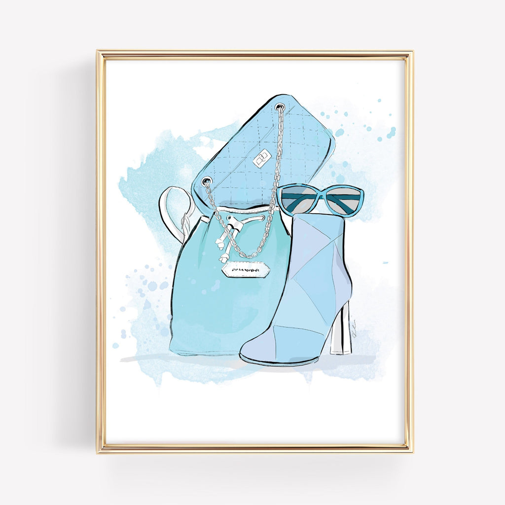 Blue Shades *PRINTABLE*