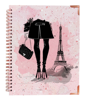 Pink in Paris Rose Gold Notebook