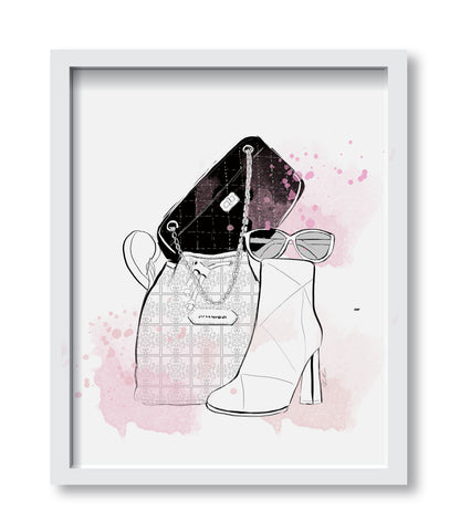 Nevertheless She Persisted Art Print