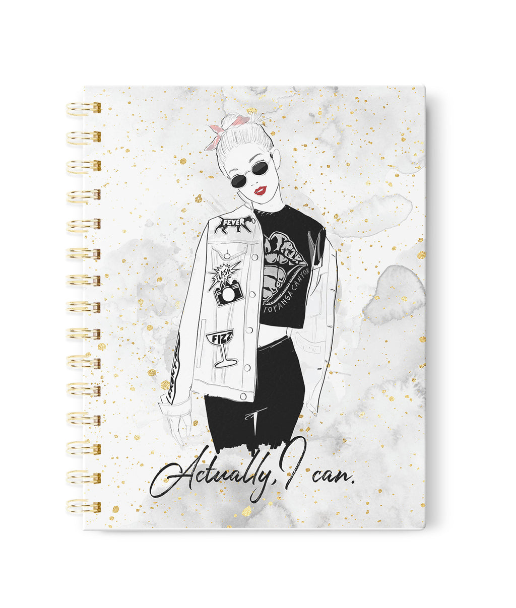 Actually I Can Notebook
