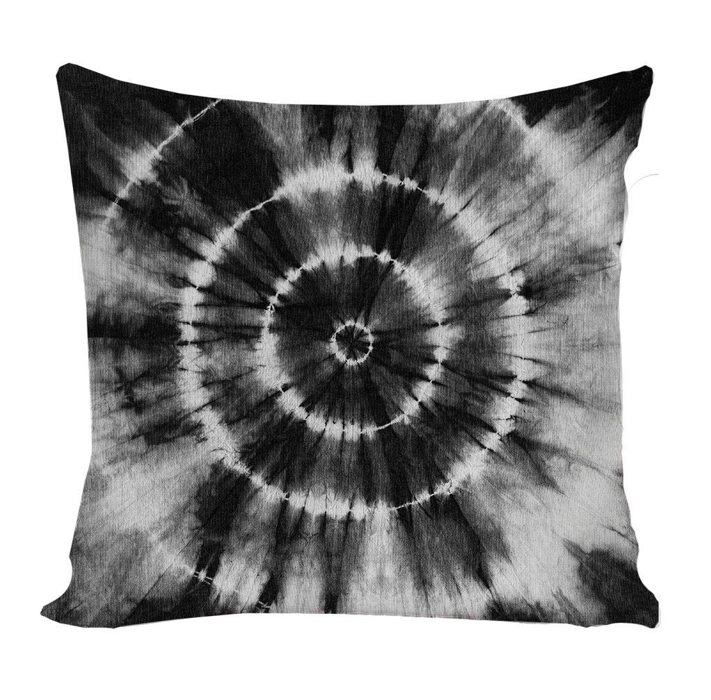 PREORDER Black Tie Dye Pillow