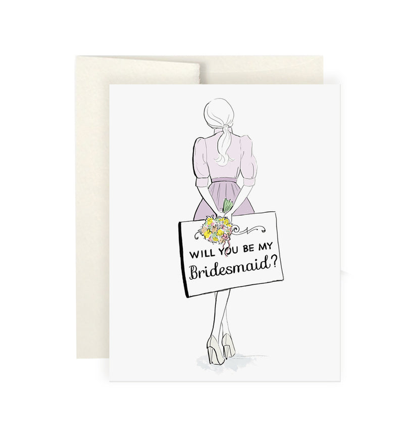Bridesmaid Note