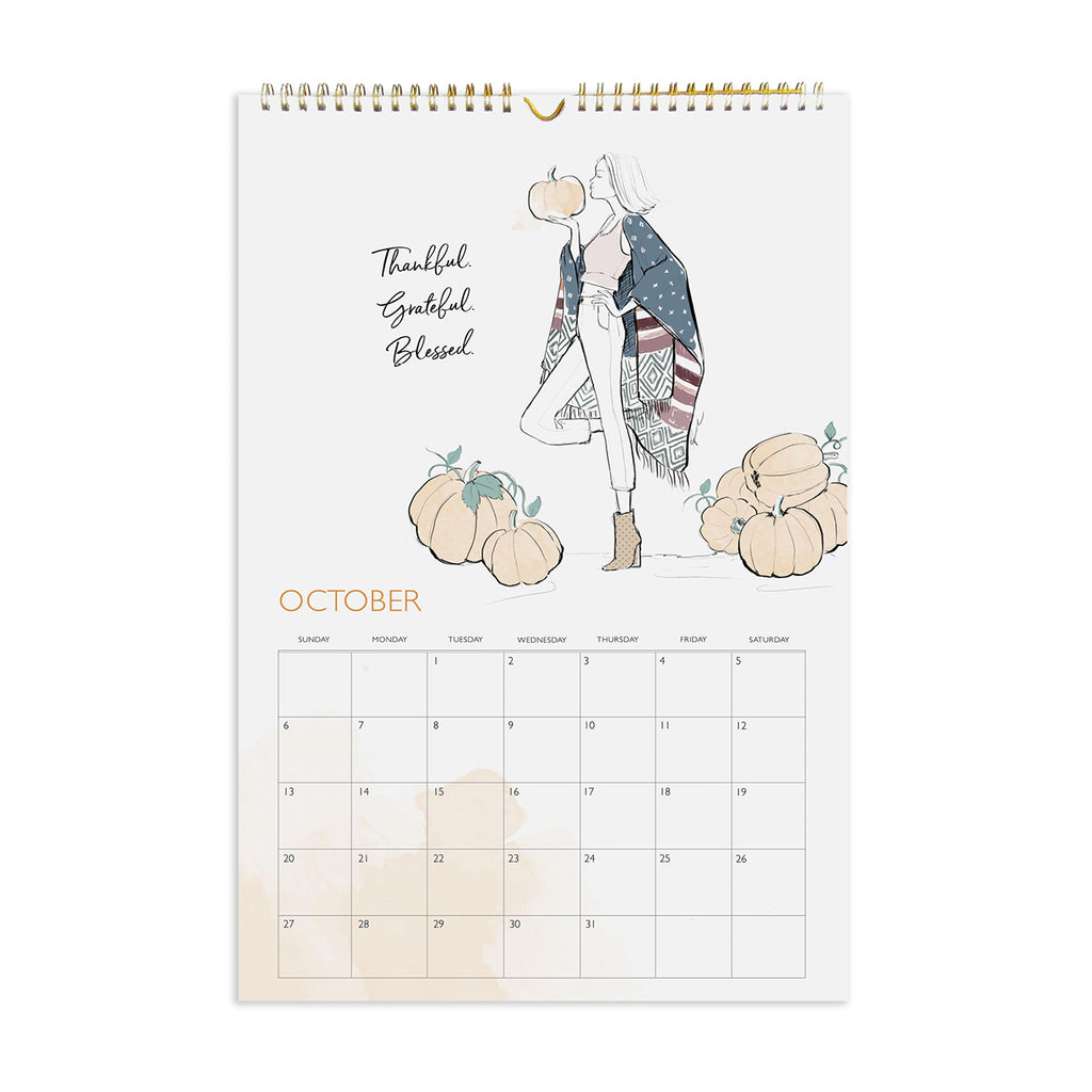 2019 Beauty & Brains Wall Calendar