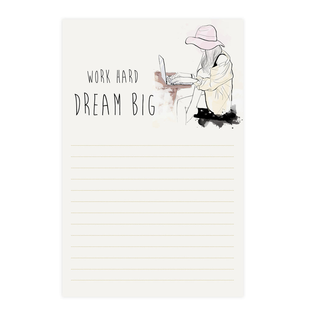 Dream Big Notepad