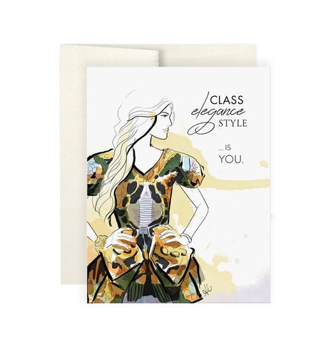 Pretty Lady Card Set