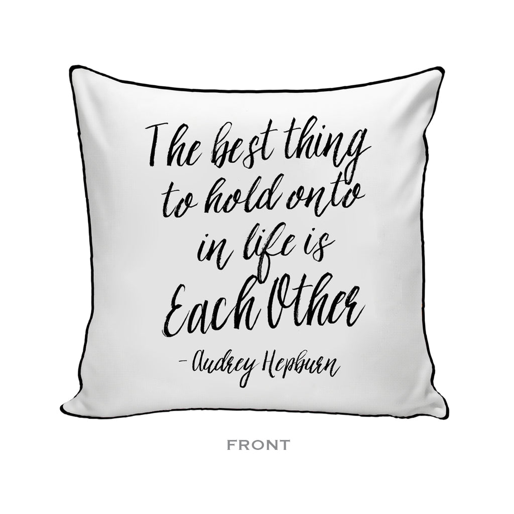 The Best Thing Pillow