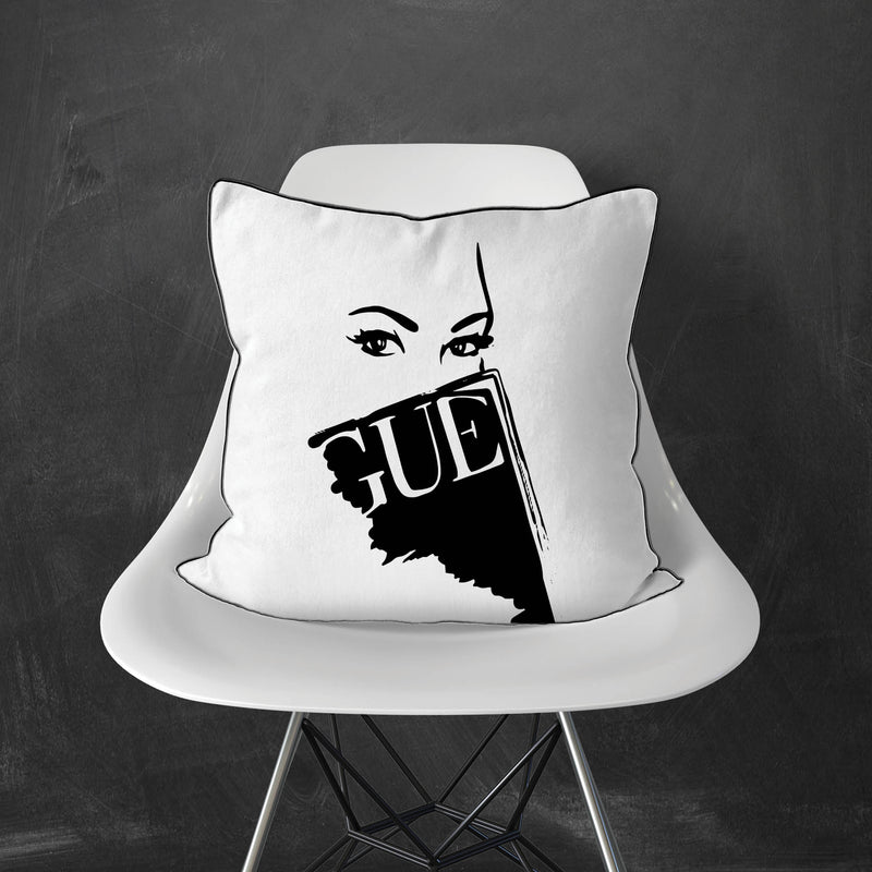 Vogue Eyes Pillow