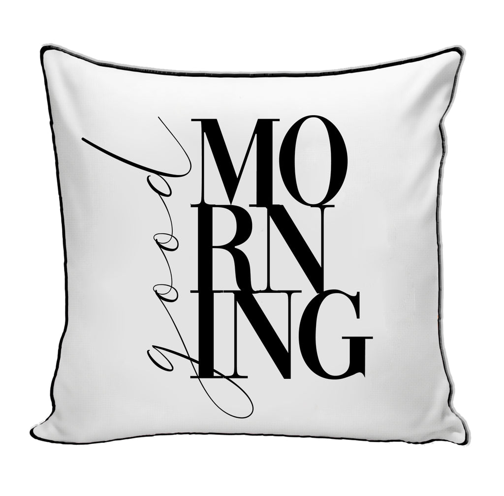 PREORDER Good Morning Pillow