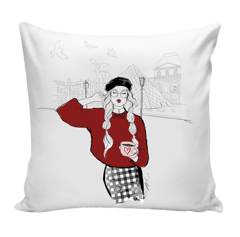 PREORDER Paris Love Pillow