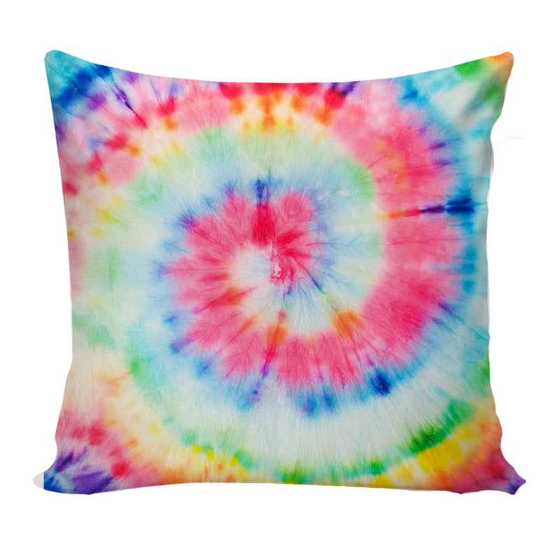 Rainbow Tie Dye Pillow