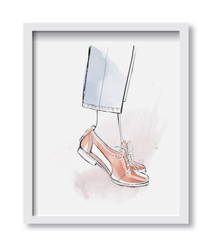 Tiptoes Art Print