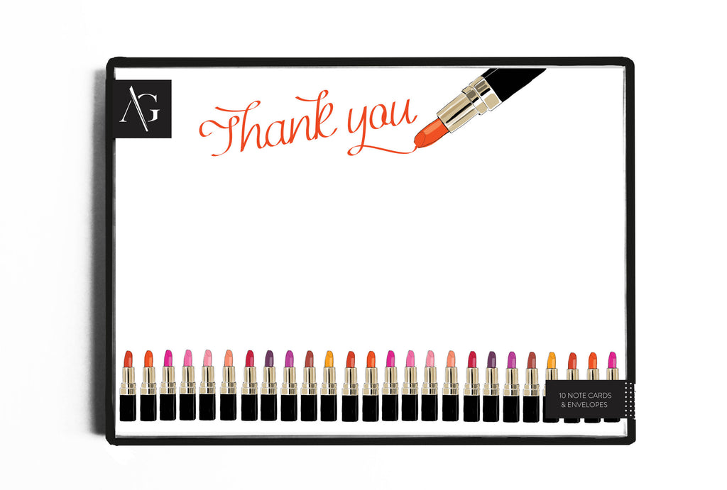 Lipstick Lover Stationery