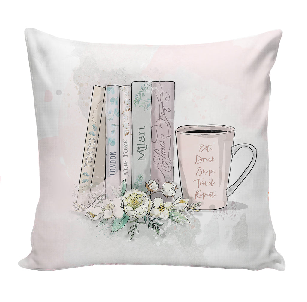 PREORDER Travel Books Pillow