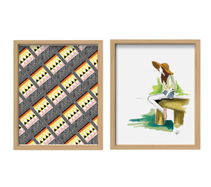Summer Cottage Print Set
