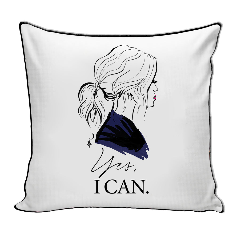 PREORDER Yes I Can Pillow