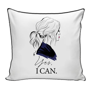 Yes I Can Pillow