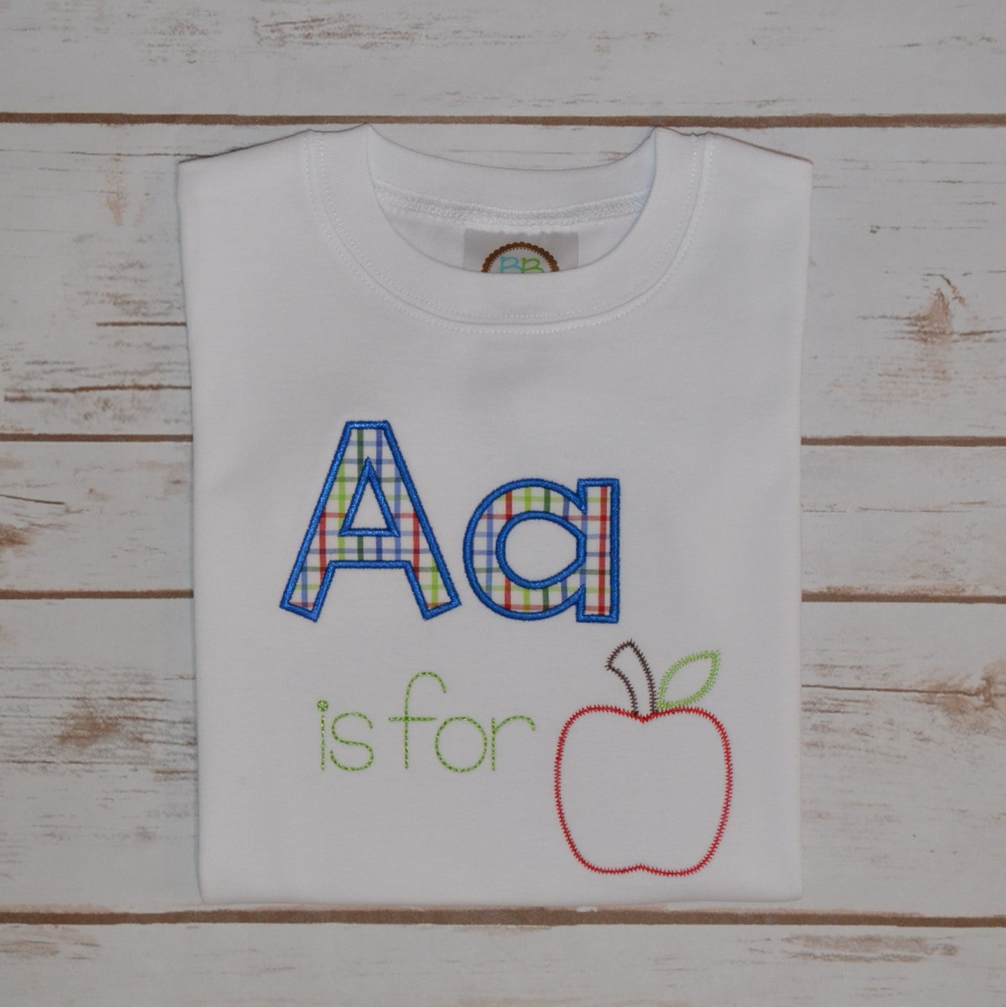Aa is for Apple Shirt