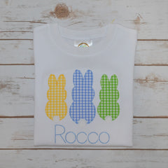 Boy's Easter Bunny Trio Shirt